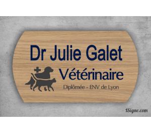 Plaque professionnelle - Vétérinaire
