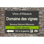 Pré-enseigne - Vente directe vins
