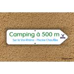 Panneau directionnel - Camping