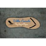 Plaque de maison - Villa Carola
