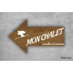 Panneau directionnel - Chalet