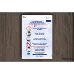 Plaque d'information - Coronavirus
