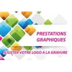 Prestation graphique - Adapter votre logo à la gravure