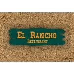 Enseigne rustique - Ranch