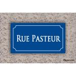 Plaque de rue - Rue Pasteur