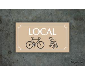 Plaque d'information - Local
