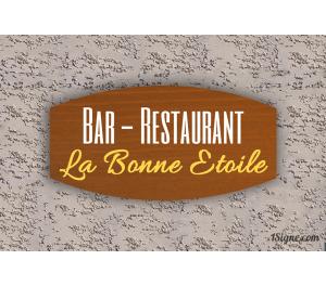 Enseigne - Devanture - Bar-Restaurant