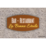 Enseigne - Devanture - Bar-Restaurant