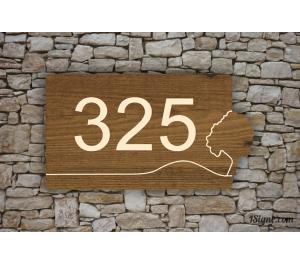 Numéro de maison - Thématic Arbre