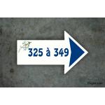 Numéro de maison Directionnel