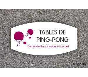 Camping - Aire de jeux - Tables PingPong