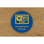 Camping - Zone Wifi - Renseignement Accueil
