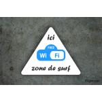 Camping - Panneau Zone Wifi