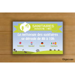 Camping - Sanitaires WC - Ludique Campagne