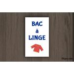Camping - Sanitaires - Bac à Linge