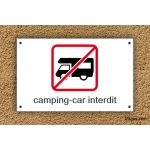 Camping - Interdiction - Camping-Car