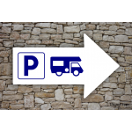 Camping - Directionnel Parking - Camping-Car