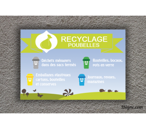 Camping - Recyclage Poubelles