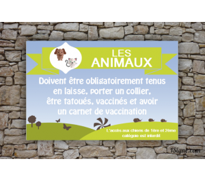 Camping - Animaux - Consigne