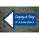 Panneau directionnel - Parking