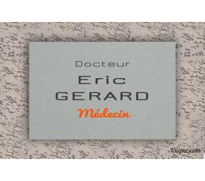 Plaque Professionnelle - Médecin