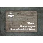 Plaque commémorative - Funéraire
