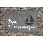 Plaque funéraire - Pierre