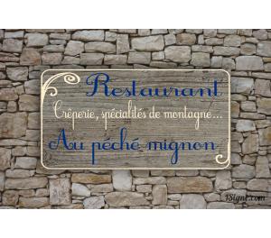 Enseigne - Devanture - Restaurant