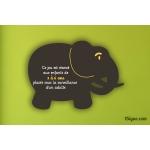 Panneau Aire de jeu - Compact Elephant