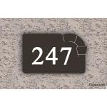 Numéro de maison Château