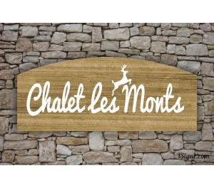 Enseigne - Devanture - Chalet Les Monts