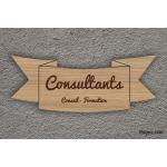 Plaque d'information - Consultant