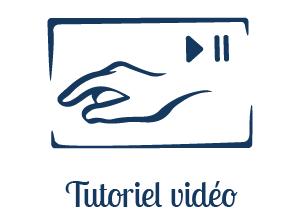 Visionner des tutoriels vidéos qui vous aident dans votre création